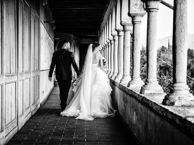 Il matrimonio di Davide e Eleonora a Roè Volciano, Brescia 42