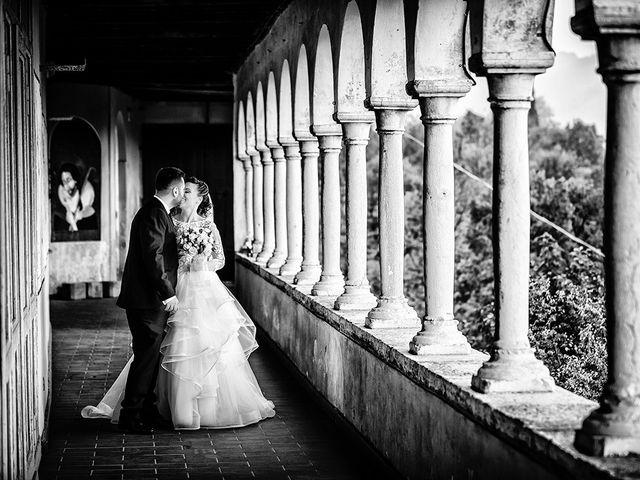 Il matrimonio di Davide e Eleonora a Roè Volciano, Brescia 44