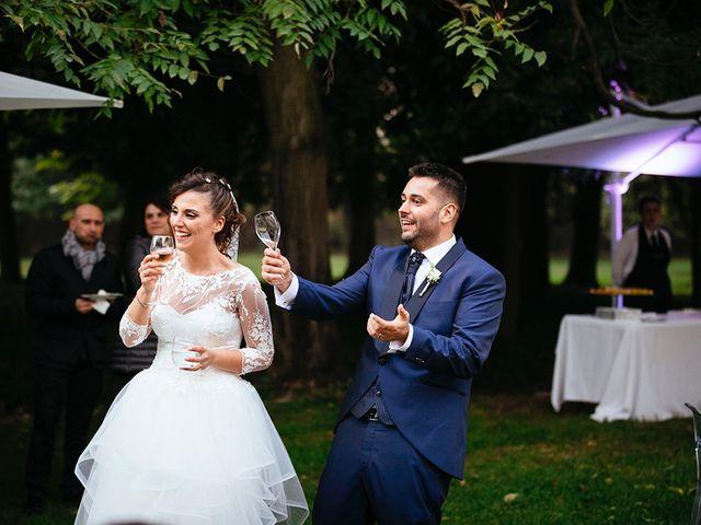 Il matrimonio di Davide e Eleonora a Roè Volciano, Brescia 65