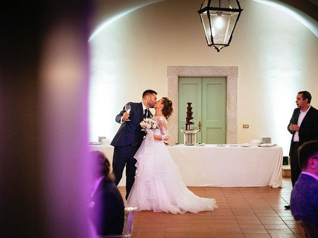 Il matrimonio di Davide e Eleonora a Roè Volciano, Brescia 91