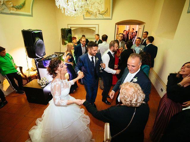 Il matrimonio di Davide e Eleonora a Roè Volciano, Brescia 99