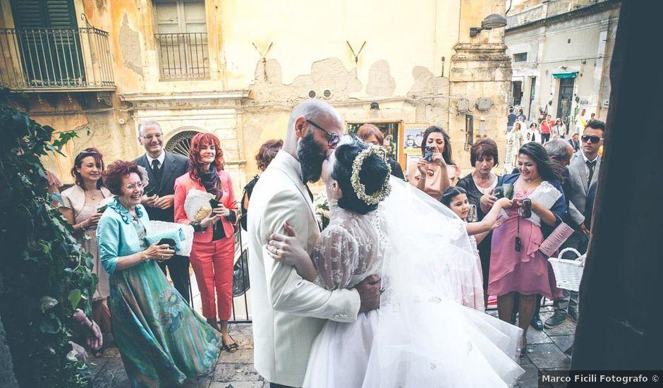 Il matrimonio di Matteo e Elide a Noto, Siracusa