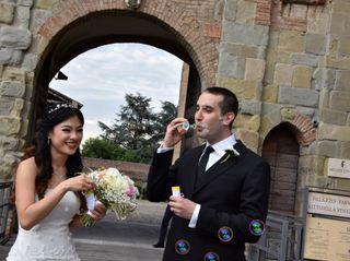 Le nozze di Jenifer e Fabio