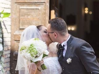 Le nozze di Serena e Toni