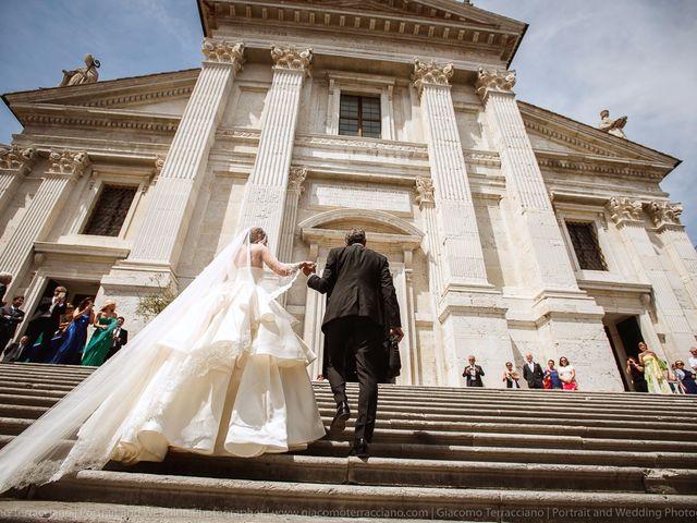Il matrimonio di Alessandro e Eleonora a Urbino, Pesaro - Urbino 45