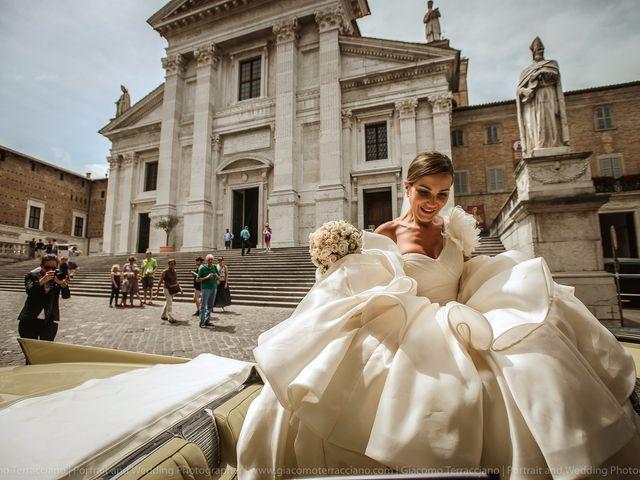 Il matrimonio di Alessandro e Eleonora a Urbino, Pesaro - Urbino 82