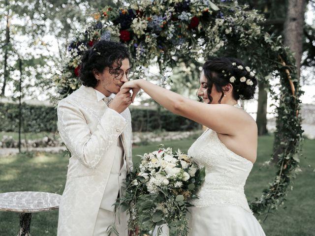 Le nozze di Carmen e Andrea