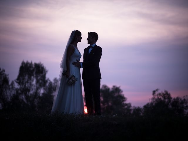 Il matrimonio di Matteo e Nicole a Cortemaggiore, Piacenza 1