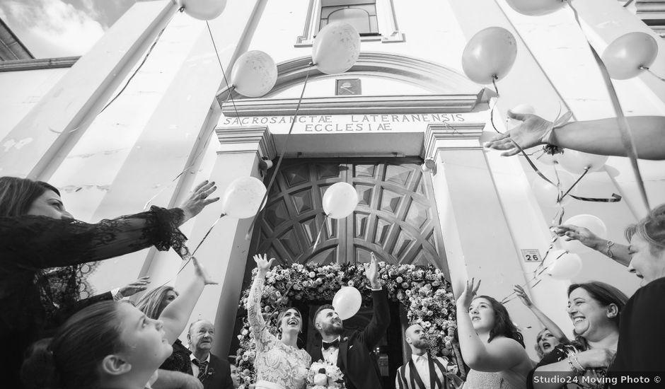 Il matrimonio di Luigi e Anna a Striano, Napoli