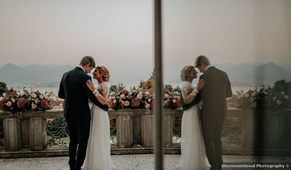 Il matrimonio di Giorgio e Alessandra a Stresa, Verbania