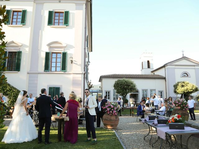 Il matrimonio di Marco e Giulia a Montemurlo, Prato 86