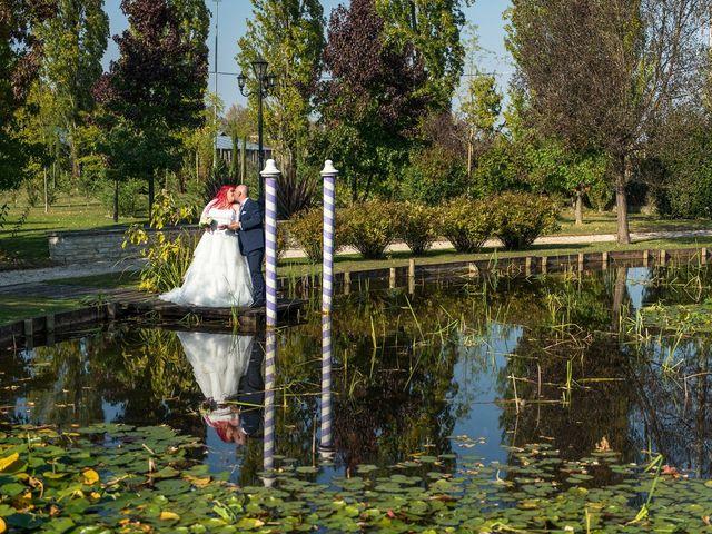 Il matrimonio di Yuri e Arianna a Torre di Mosto, Venezia 16