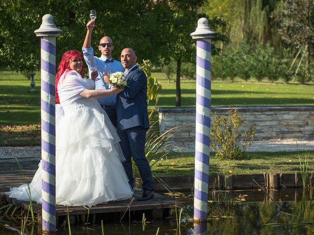 Il matrimonio di Yuri e Arianna a Torre di Mosto, Venezia 22