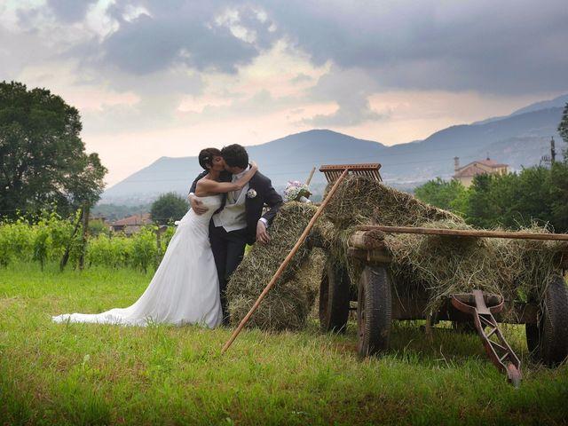 Il matrimonio di Alberto e Silvia a Muscoline, Brescia 17