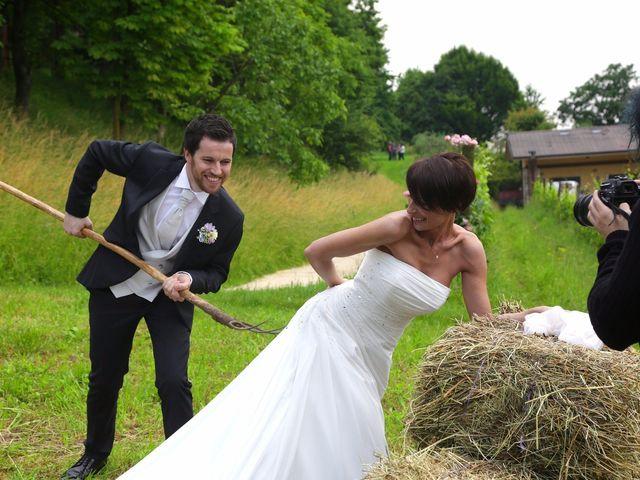 Il matrimonio di Alberto e Silvia a Muscoline, Brescia 24