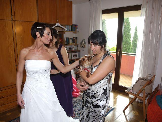 Il matrimonio di Alberto e Silvia a Muscoline, Brescia 6