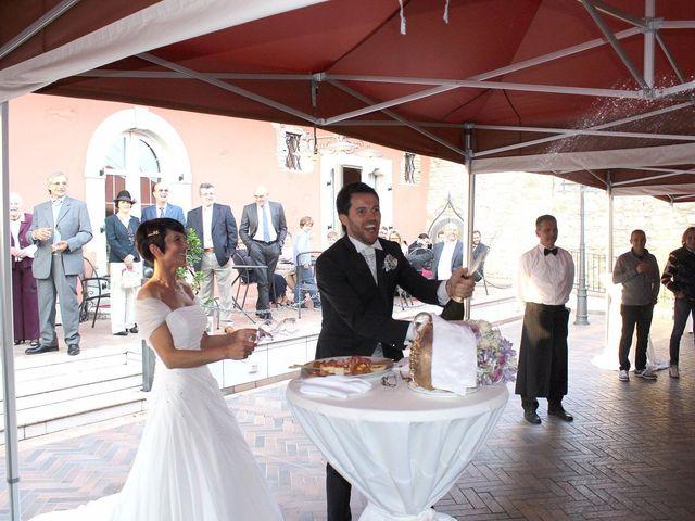 Il matrimonio di Alberto e Silvia a Muscoline, Brescia 26