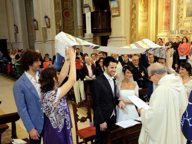 Il matrimonio di Alberto e Silvia a Muscoline, Brescia 14