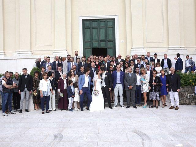 Il matrimonio di Alberto e Silvia a Muscoline, Brescia 15