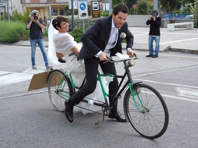 Il matrimonio di Alberto e Silvia a Muscoline, Brescia 16