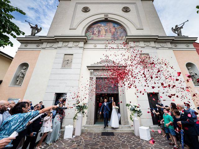 Il matrimonio di Alessandro e Alessandra a Carvico, Bergamo 21