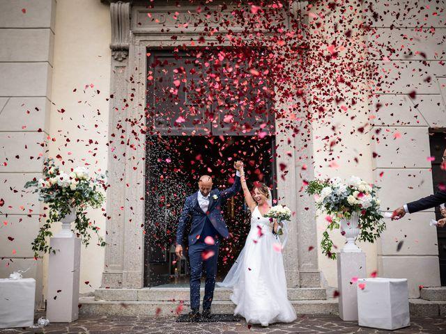 Il matrimonio di Alessandro e Alessandra a Carvico, Bergamo 22