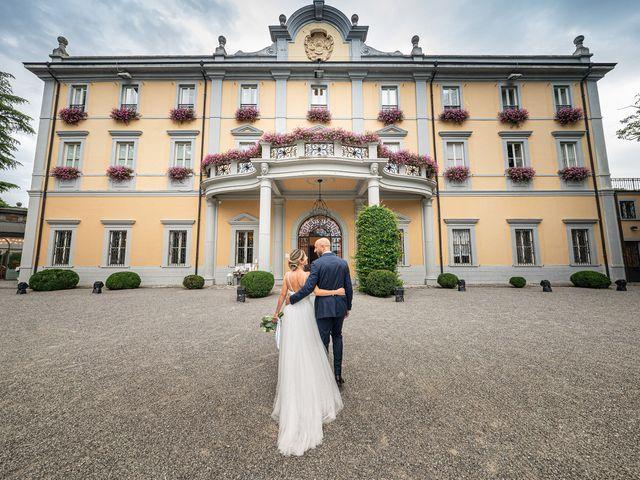 Il matrimonio di Alessandro e Alessandra a Carvico, Bergamo 25
