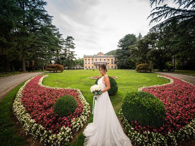 Il matrimonio di Alessandro e Alessandra a Carvico, Bergamo 27