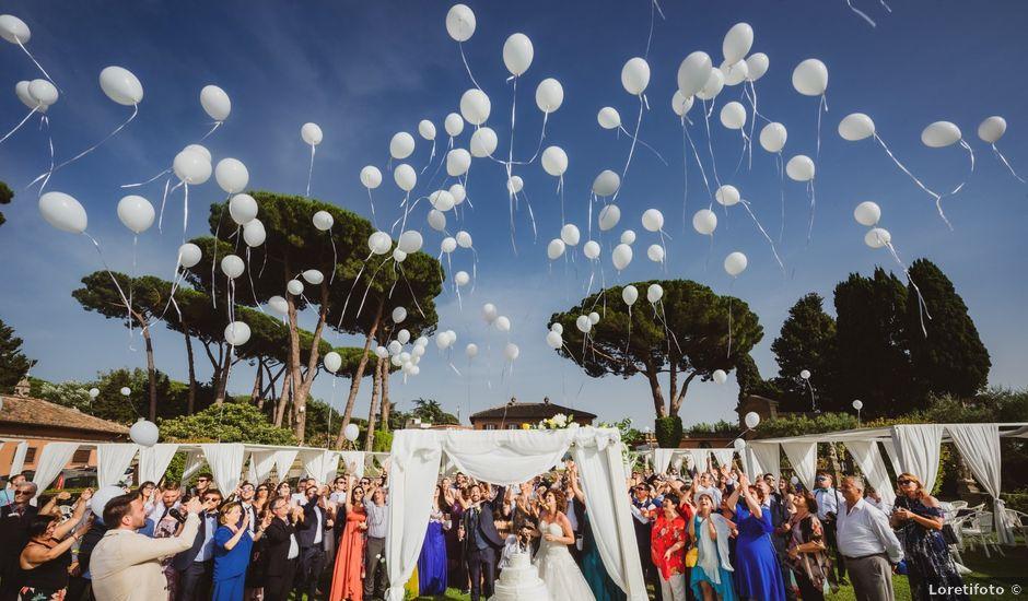 Il matrimonio di Marco e Sara a Roma, Roma