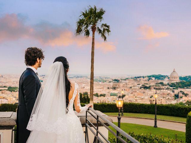 Il matrimonio di Daniele e Myriam a Roma, Roma 54
