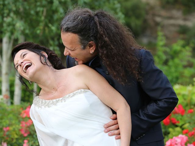 le nozze di Marilena e Mario