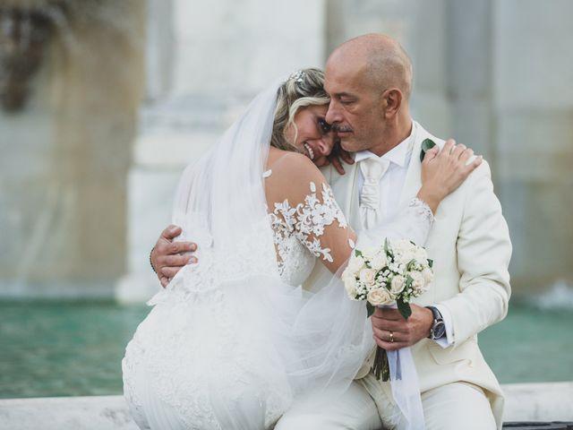Il matrimonio di Roberta e Fabrizio a Roma, Roma 1