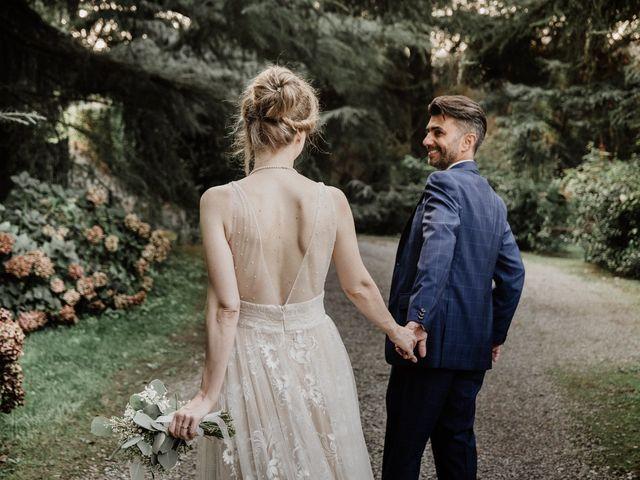 Il matrimonio di Salvatore e Alessandra a Fino Mornasco, Como 175