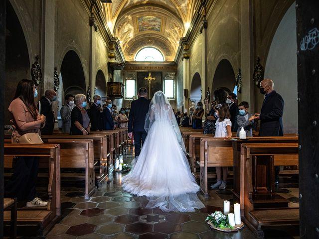 Il matrimonio di Davide e Martina a Castelletto sopra Ticino, Novara 2
