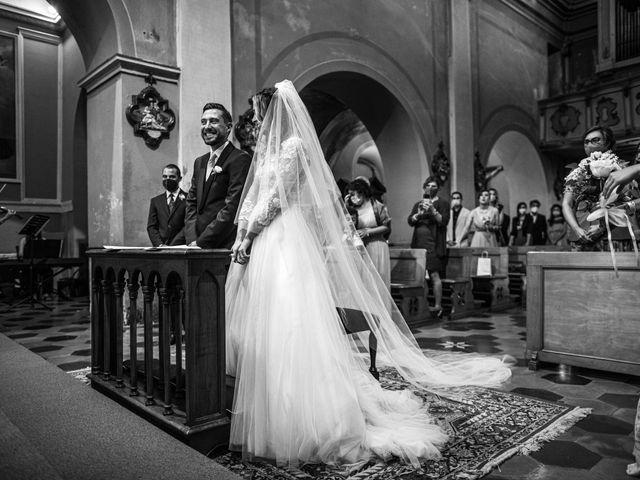 Il matrimonio di Davide e Martina a Castelletto sopra Ticino, Novara 9