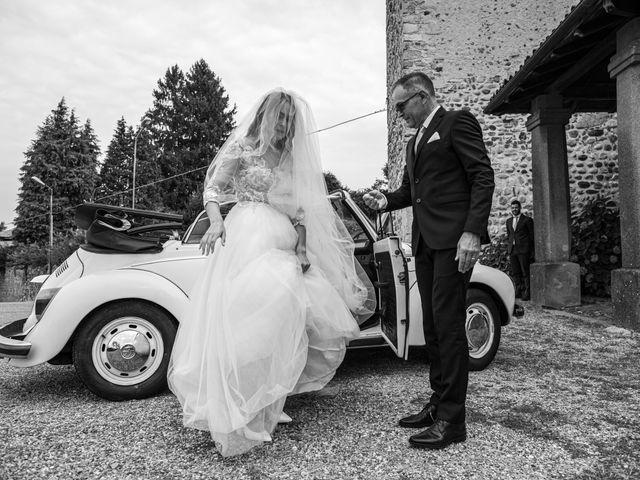 Il matrimonio di Davide e Martina a Castelletto sopra Ticino, Novara 46