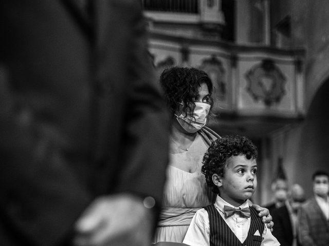 Il matrimonio di Davide e Martina a Castelletto sopra Ticino, Novara 49