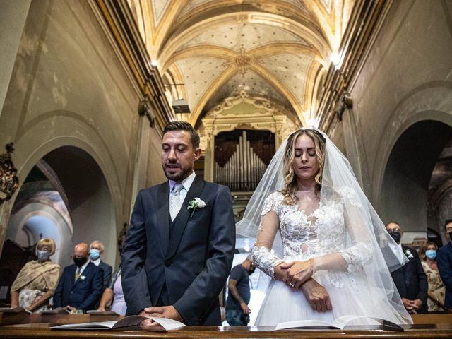 Il matrimonio di Davide e Martina a Castelletto sopra Ticino, Novara 52