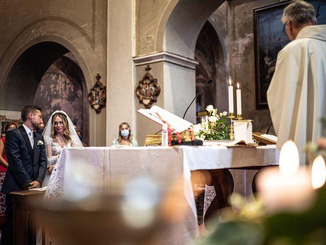 Il matrimonio di Davide e Martina a Castelletto sopra Ticino, Novara 54