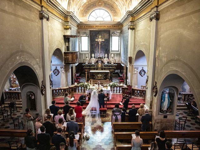 Il matrimonio di Davide e Martina a Castelletto sopra Ticino, Novara 58