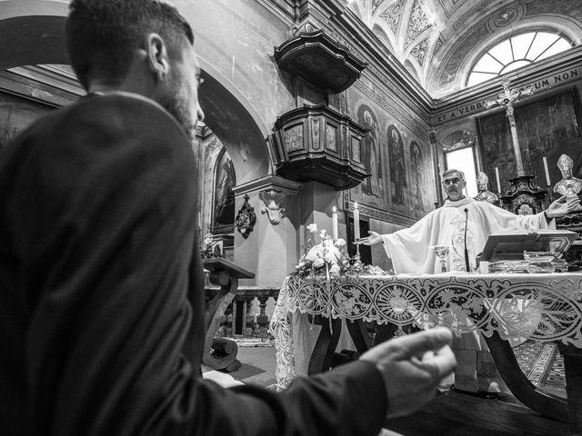 Il matrimonio di Davide e Martina a Castelletto sopra Ticino, Novara 60