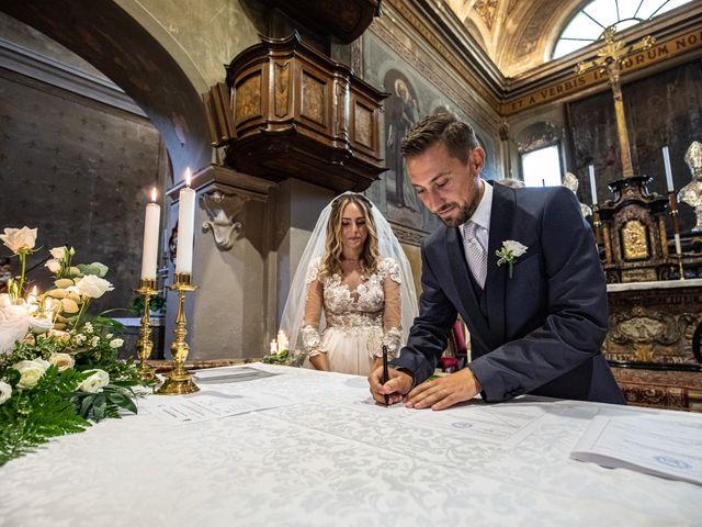 Il matrimonio di Davide e Martina a Castelletto sopra Ticino, Novara 62