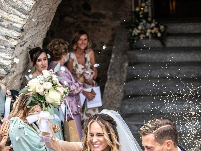 Il matrimonio di Davide e Martina a Castelletto sopra Ticino, Novara 67