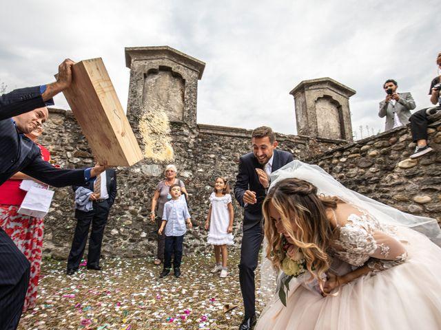 Il matrimonio di Davide e Martina a Castelletto sopra Ticino, Novara 68