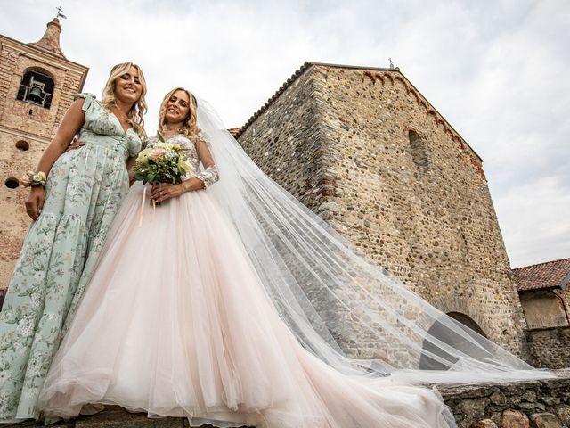 Il matrimonio di Davide e Martina a Castelletto sopra Ticino, Novara 72