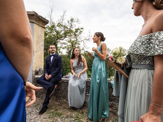 Il matrimonio di Davide e Martina a Castelletto sopra Ticino, Novara 73