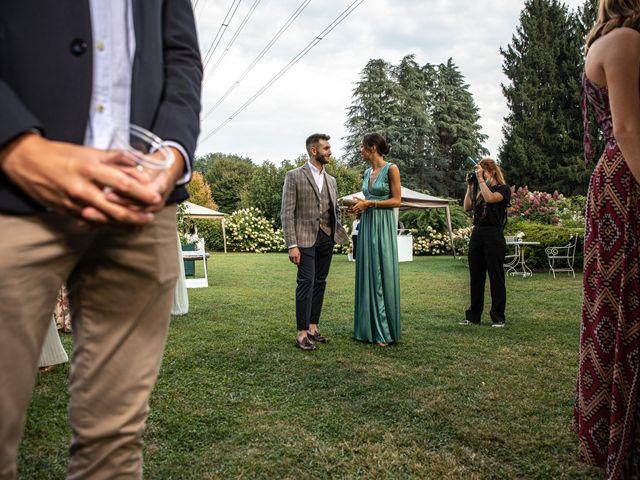 Il matrimonio di Davide e Martina a Castelletto sopra Ticino, Novara 78
