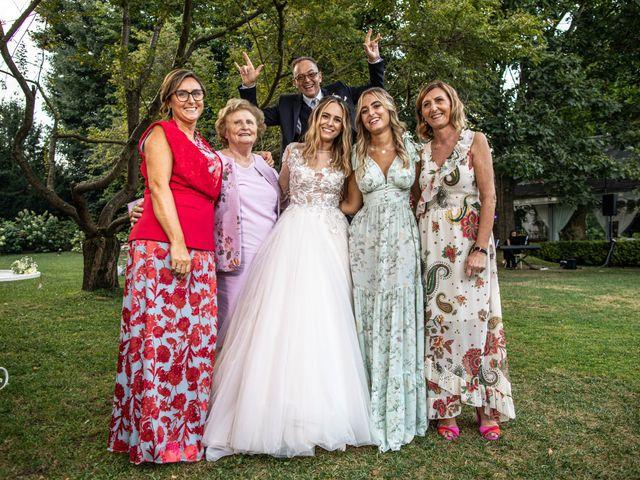 Il matrimonio di Davide e Martina a Castelletto sopra Ticino, Novara 86