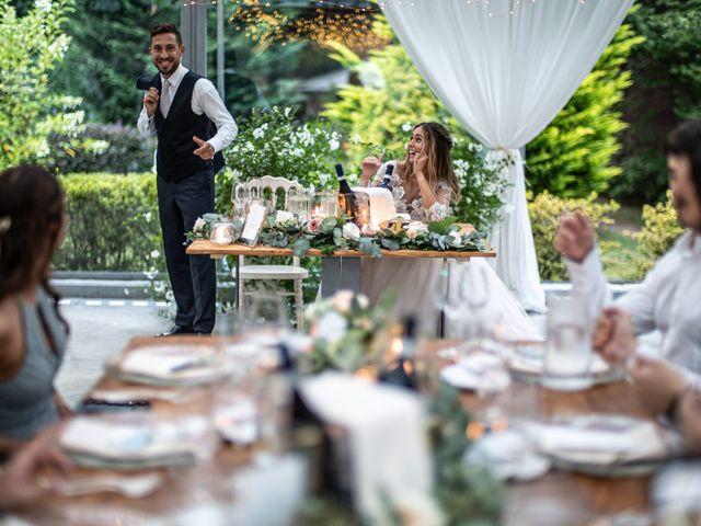 Il matrimonio di Davide e Martina a Castelletto sopra Ticino, Novara 91