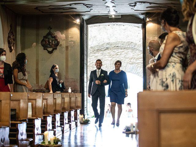 Il matrimonio di Davide e Martina a Castelletto sopra Ticino, Novara 112